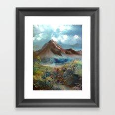 masal dağı Framed Art Print