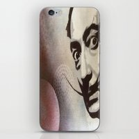 salvador dali iPhone & iPod Skins featuring salvador dali by Joedunnz