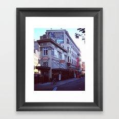 12th & stark. Framed Art Print