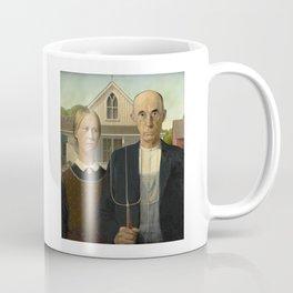 American Gothic by Grant Wood Coffee Mug