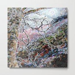 Wolf Tree Metal Print