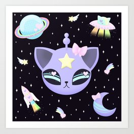 Space Cutie Art Print