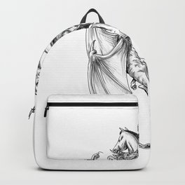 St George Slaying Dragon Tattoo Backpack