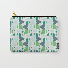 Fragmented Shapes Carry-All Pouch