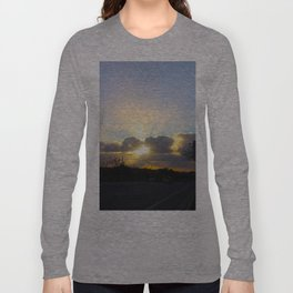 Suburban Sunset Long Sleeve T-shirt