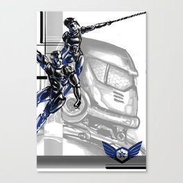 Pacific Rim: Team G! Danger Canvas Print
