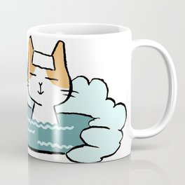 Traveling Kitty Coffee Mug