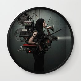Madame Cinematic Wall Clock