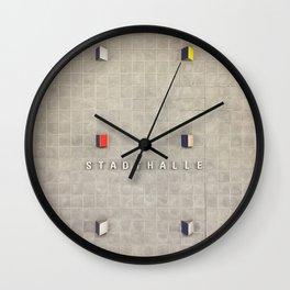 Nuremberg U-Bahn Memories - Stadthalle Wall Clock
