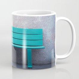 Green Bench Coffee Mug