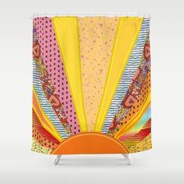 Sun Patterns Shower Curtain