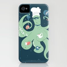 The Octopus Chef Slim Case iPhone (4, 4s)