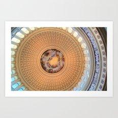 Capital Rotunda Art Print
