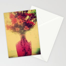 Vintage Flowers of August Stationery Cards