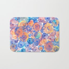 Floral abstract(44) Bath Mat