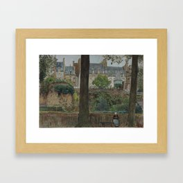 1928 · William Frederick Yeames, On the Boulevards, Dinan Framed Art Print
