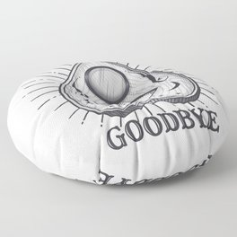 Yes No Goodbye Magic Ouija Vintage Planchette Design Floor Pillow