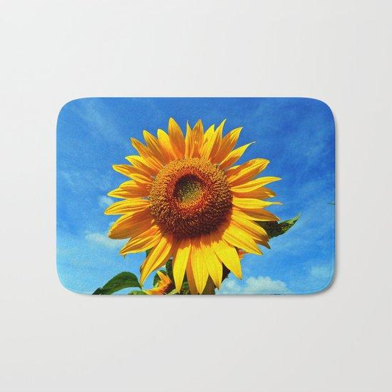 Stunning Sunflower Bath Mat
