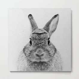 Rabbit Dear Metal Print