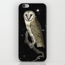 Owl in the Universe iPhone Skin