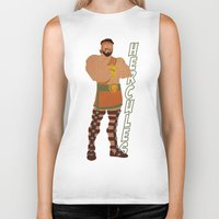 hercules Biker Tanks featuring Hercules by Young Jake