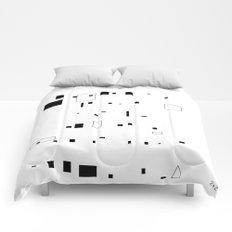 Geometry squares Comforters