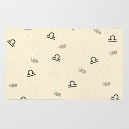 Libra Pattern - Beige Rug