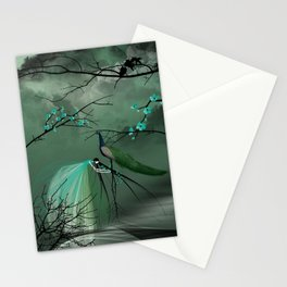 Le paon Stationery Cards