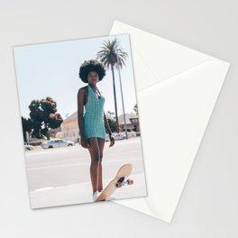 cali girl Stationery Cards