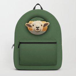 Sweet Lamb in the Barnyard Backpack