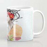 techno Mugs featuring FRASK techno by Fraskdesign