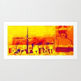 Toronto | Project L0̷SS   Art Print