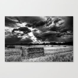 Moments from the storm Canvas Print
