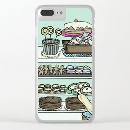 British Bakery Clear iPhone Case