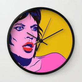 Glam Jagger Wall Clock