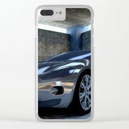Sports car Clear iPhone Case