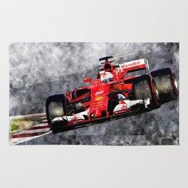 Sebastian Vettel Rug