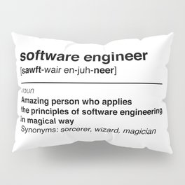 Software Engineer definition Pillow Sham
