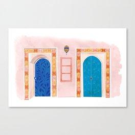 Neighbors - Mediterranean Doors Canvas Print