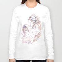 rapunzel Long Sleeve T-shirts featuring rapunzel by paolo de jesus