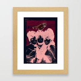 Ronettes Framed Art Print
