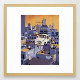 Once Upon a Future: Tel-Aviv, 2013 Framed Art Print