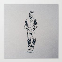 Splaaash Series - Hipster Dude Ink Canvas Print