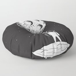 Fly Moon Floor Pillow