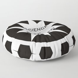 Science must never be silenced Floor Pillow