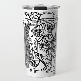 Pablo Picasso Weeping Woman 1937 Crying, Artwork Sketch Reproduction Design For Men, Women, Kids, Ts Travel Mug