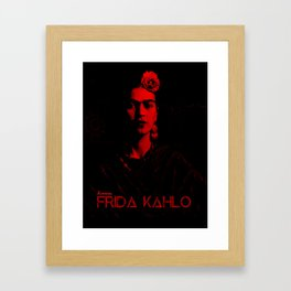 Frida Kahlo (Ver 6.1) Framed Art Print
