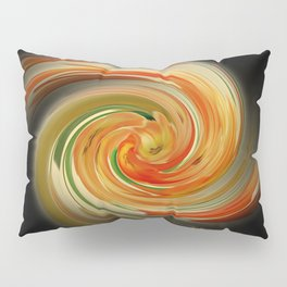 The whirl of life, W1.6B Pillow Sham