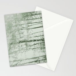 Windy woods (green) Stationery Cards