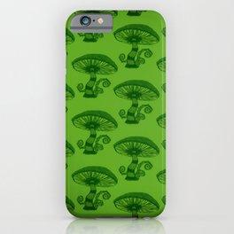 """""""Mushrooms in the Garden"""" Wonderland Style Design by Dark Decors iPhone Case"""